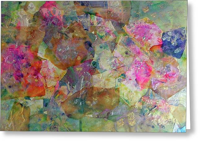 Designers Choice Mixed Media Greeting Cards - Colorist Abstract Greeting Card by Don Wright