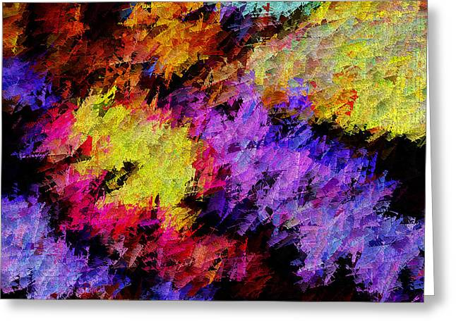Abstract Digital Photographs Greeting Cards - Colorosity Greeting Card by Paul Wear