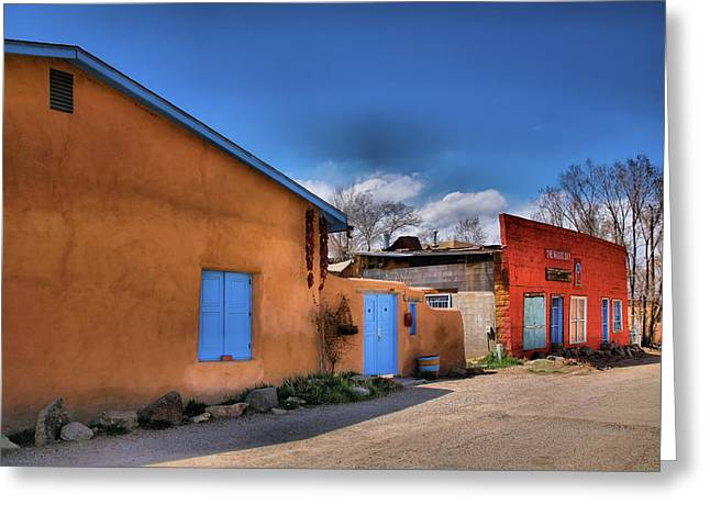 Taos Greeting Cards - Colors of New Mexico II Greeting Card by Steven Ainsworth