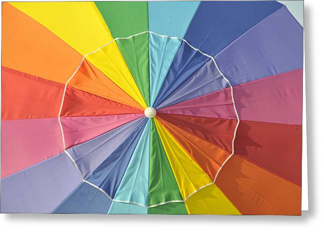 Color Wheel Art Greeting Cards - Colors of summer Greeting Card by David Lee Thompson