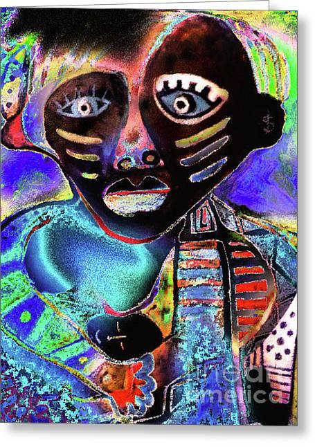 Robert Daniels Digital Art Greeting Cards - Colors Greeting Card by Robert Daniels