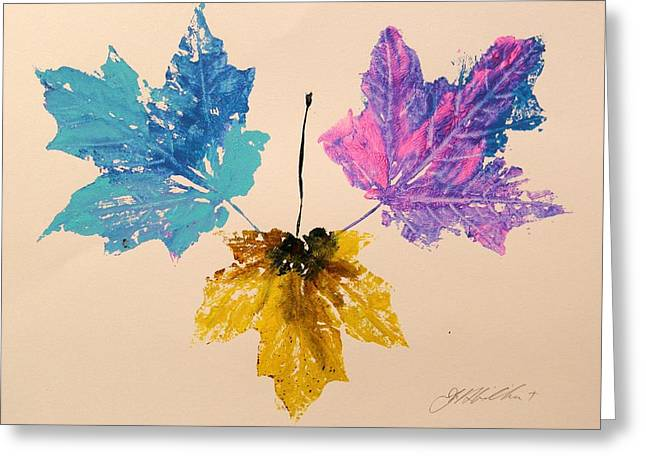 Harvest Time Drawings Greeting Cards - Colors You Might Miss Greeting Card by John  Williams