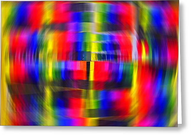 Color Wheel Greeting Cards - Colorwheel  Greeting Card by Elizabeth Hoskinson