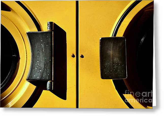 Washing Machine Greeting Cards - Combo Greeting Card by Dean Harte
