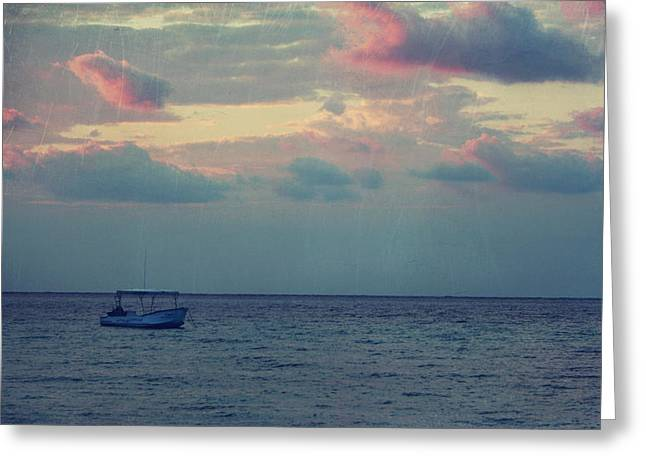 Cozumel Greeting Cards - Come With Me My Love Greeting Card by Laurie Search