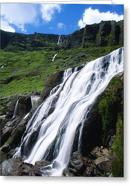 Cummins Greeting Cards - Comeragh Mountains, County Waterford Greeting Card by Richard Cummins