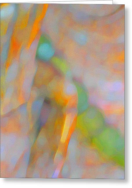Greeting Card featuring the digital art Comfort by Richard Laeton