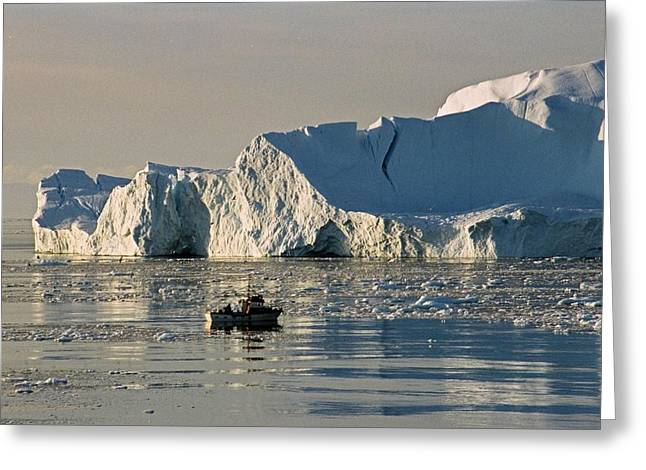 Greenland Greeting Cards - Coming Home - Greenland Greeting Card by Juergen Weiss