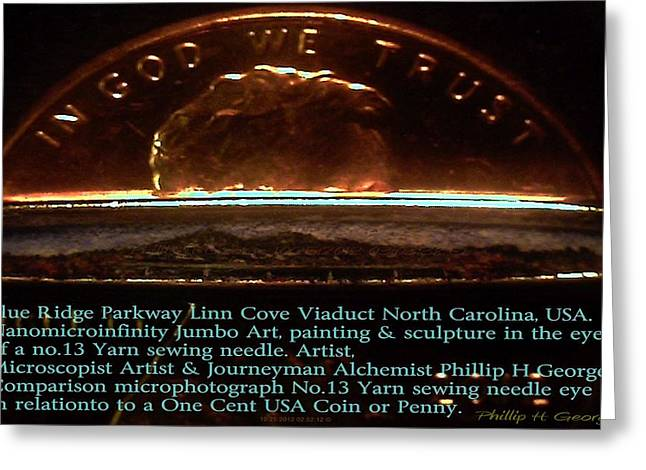 Folk Art Sculptures Greeting Cards - Comparison Microphotograph  Greeting Card by Phillip H George