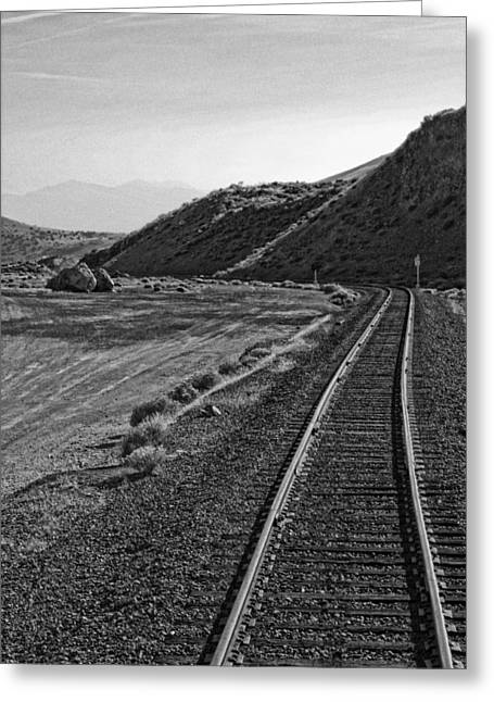 Mining Photos Greeting Cards - Comstock Load Greeting Card by Linda Dunn