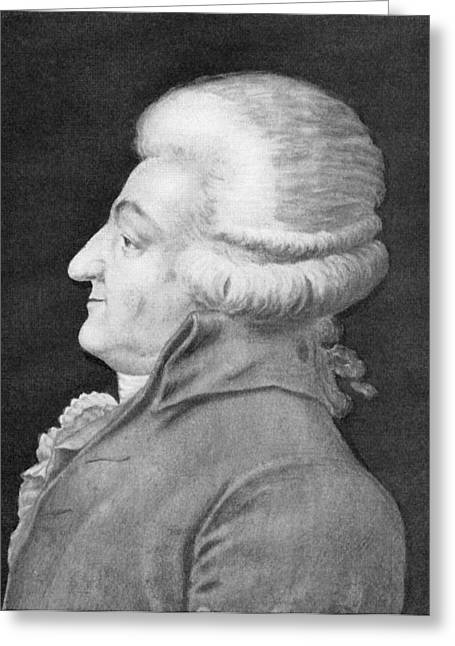 Honore Greeting Cards - Comte De Mirabeau, French Politician Greeting Card by