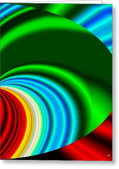 Intrigue Greeting Cards - Conceptual 17 Greeting Card by Will Borden