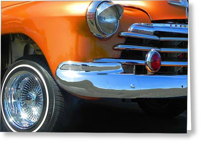 Car 47 Greeting Cards - Conejo Greeting Card by Chuck Re