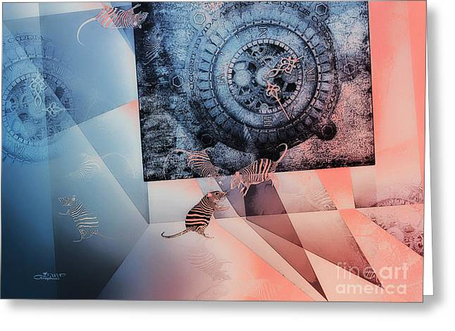 Disarray Greeting Cards - Confusion Greeting Card by Jutta Maria Pusl