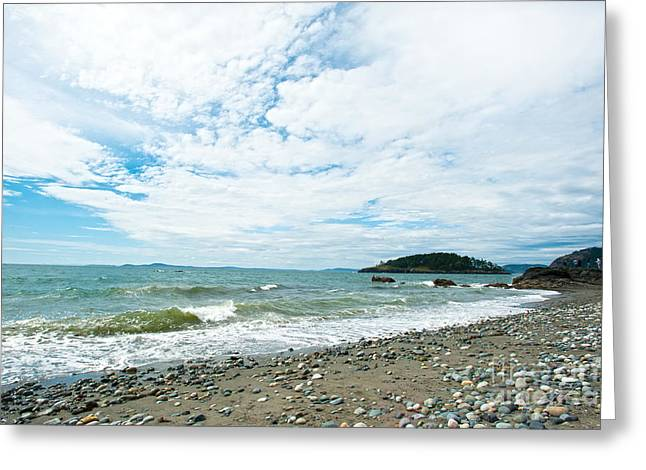 Deception Beach Greeting Cards - Constant Greeting Card by Artist and Photographer Laura Wrede