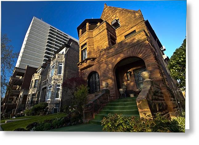 Contrast In Architecture Greeting Card by Sven Brogren