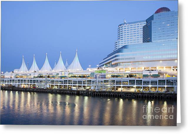Convention Greeting Cards - Convention Center on the Waterfront Greeting Card by Bryan Mullennix
