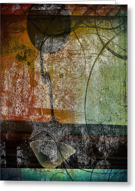 Conversation Decline Greeting Card by JC Photography and Art