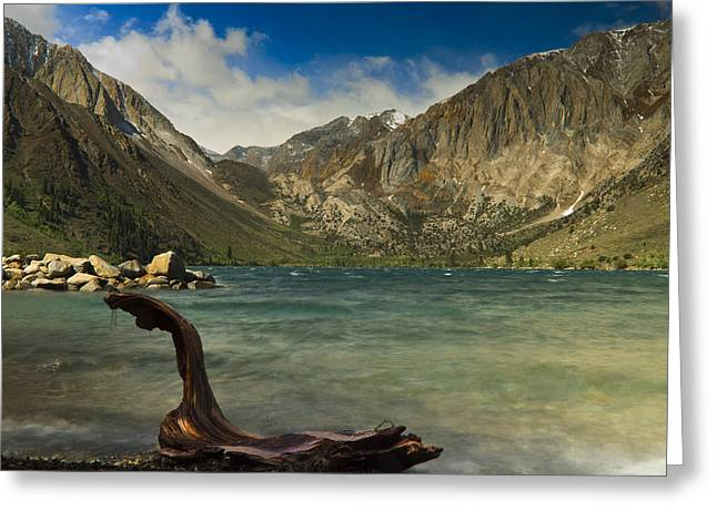 Yosimite Greeting Cards - Convict Lake Greeting Card by Naveen Thota