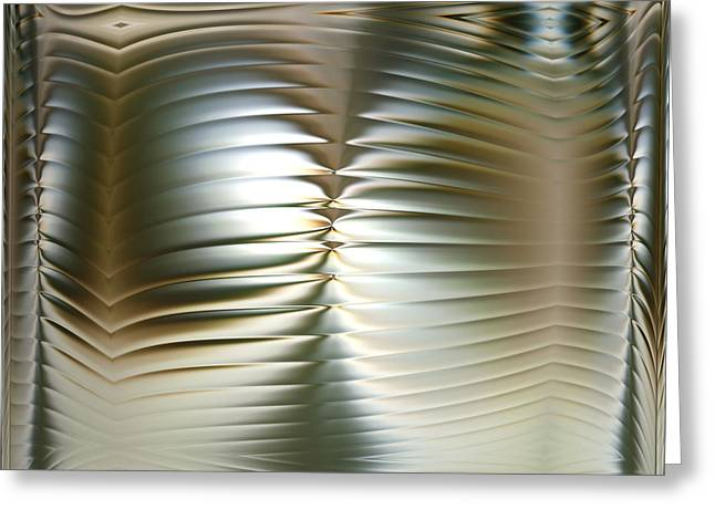 Subtle Colors Greeting Cards - Convolution - right part Greeting Card by Li   van Saathoff