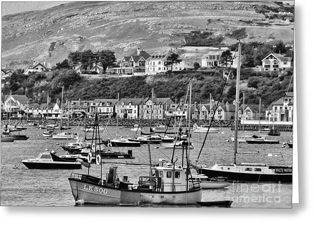 Wales Prints Greeting Cards - Conway Bay 2 Greeting Card by Graham Taylor