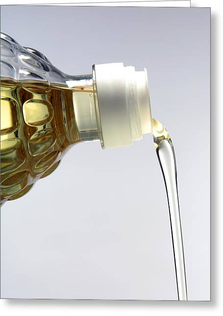 Olive Oil Greeting Cards - Cooking Oil Greeting Card by Victor De Schwanberg