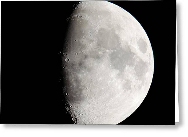 Oceanus Procellarum Greeting Cards - COPERNICUS SQ in Oceanus Procellarum the Monarch of the Moon Greeting Card by Andy Smy