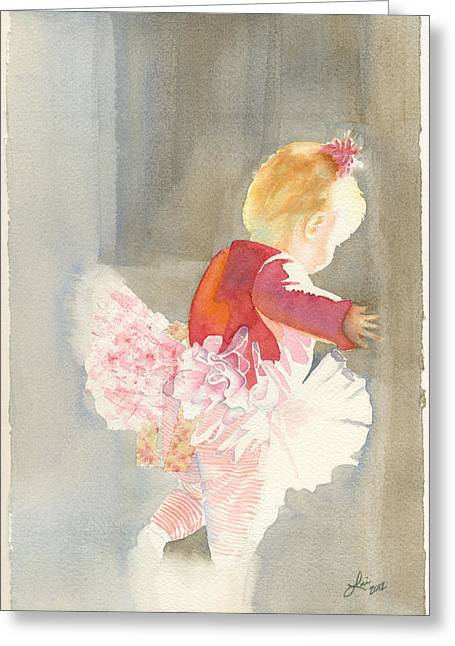 Cora In Strong Light 2 Greeting Card by Lori Johnson