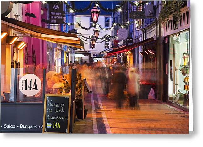 Festivities Greeting Cards - Cork, County Cork, Ireland A City Greeting Card by Peter Zoeller