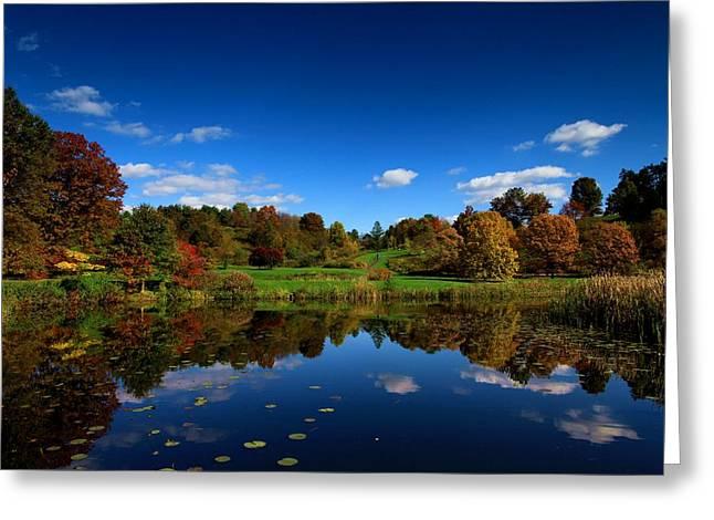 Best Sellers -  - Ithaca Greeting Cards - Cornell Arboretum Greeting Card by Paul Ge