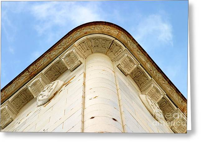 Ventura California Greeting Cards - Corner Building Greeting Card by Henrik Lehnerer