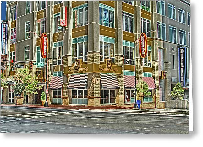 Charlotte Greeting Cards - Corner of 4th Greeting Card by Karol  Livote