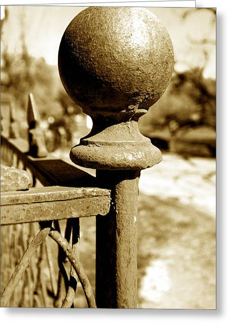 Old Fence Post Greeting Cards - Corner Post Greeting Card by Cheryl Young