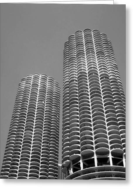 Chi Town Greeting Cards - Cornitecture Greeting Card by Nancy Ingersoll