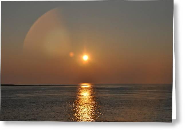 York Beach Greeting Cards - Corona Greeting Card by Bill Cannon