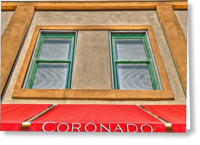 Store Fronts Digital Greeting Cards - Coronado Greeting Card by Paul Wear