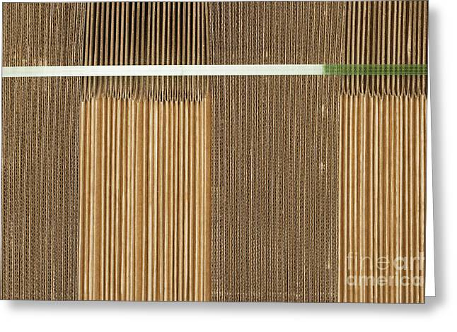 Corrugated Boxes Greeting Card by Shannon Fagan