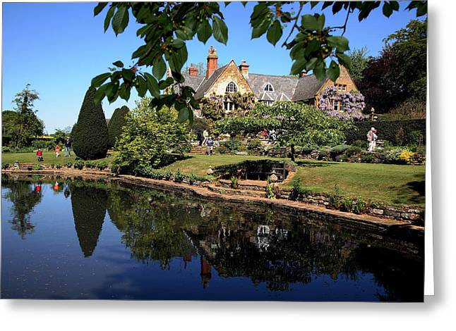 Northamptonshire Greeting Cards - Coton Manor Greeting Card by David Harding