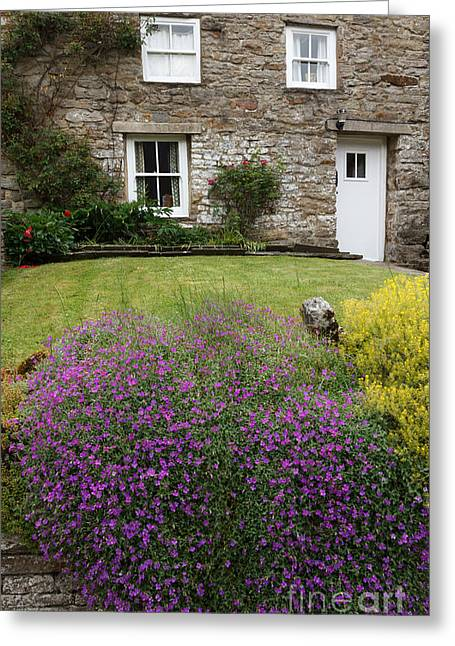 Cottage In Wensleydale Greeting Card by Louise Heusinkveld