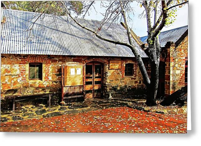 Rockford Greeting Cards - Cottage Industry Greeting Card by Douglas Barnard