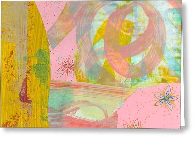 Cotton Candy Greeting Card by Alexandra Sheldon