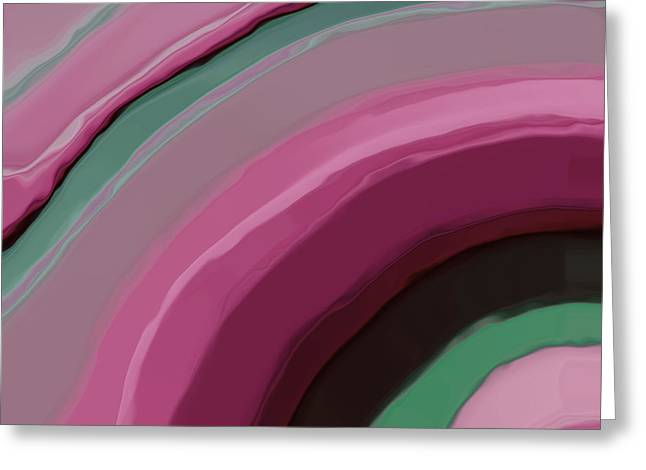Deep Layer Greeting Cards - Cotton Candy Greeting Card by Bonnie Bruno