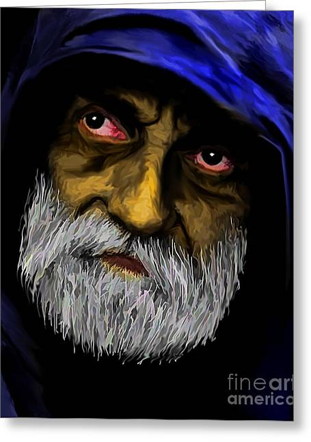 Hoodies Digital Art Greeting Cards - Could You Please Help Greeting Card by JohnD Smith