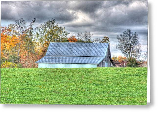 Tennessee Barn Greeting Cards - Country Barn Greeting Card by Elizabeth Spencer