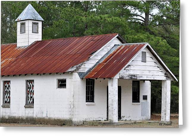 Country Church Greeting Cards - Country Church Greeting Card by Al Powell Photography USA