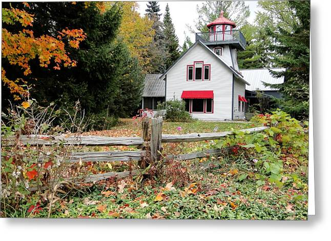 Country Cottage Greeting Card by Bruce Ritchie