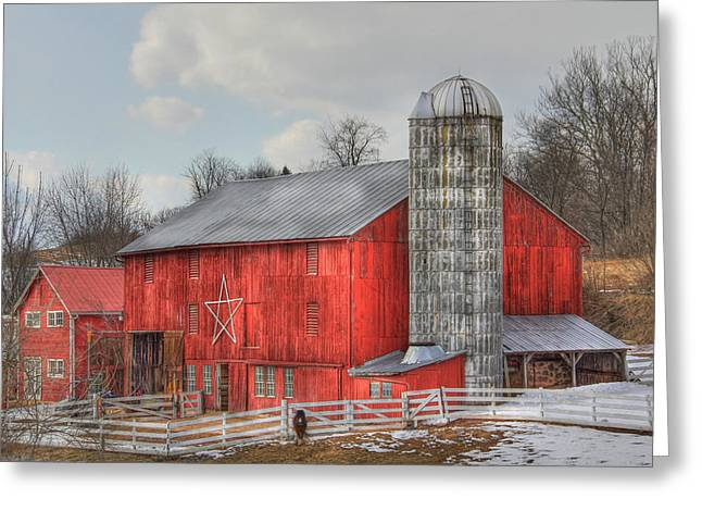 Sharon Batdorf Greeting Cards - Country Feeling Greeting Card by Sharon Batdorf