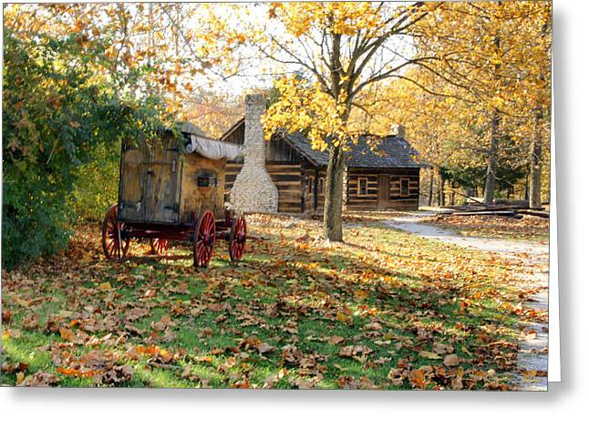Country Living Greeting Card by Franklin Conour