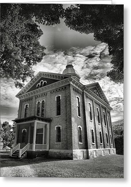 Finger Lakes Greeting Cards - County Building II Greeting Card by Steven Ainsworth