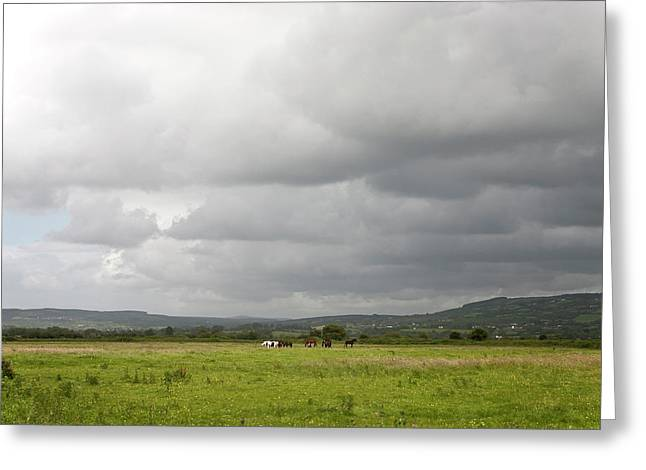 County Clare Greeting Cards - County Clare 2 Greeting Card by John Burnett